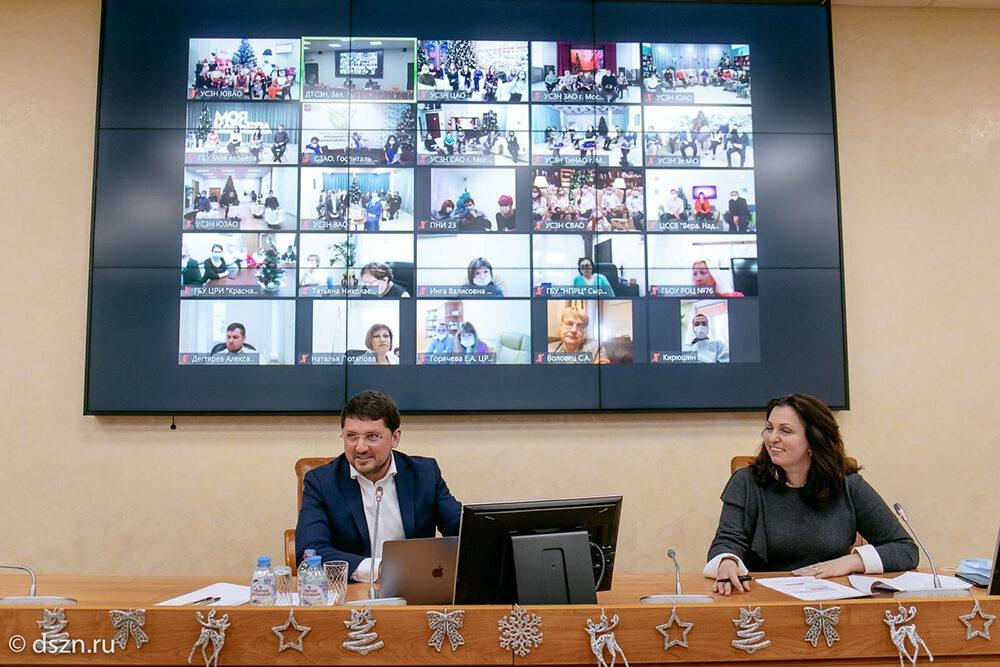 Оважном без галстуков: Евгений Стружак встретился сактивом столичной соцзащиты